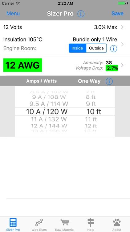 DC Wire Sizer screenshot-0