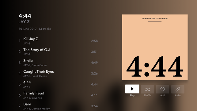 TIDAL Music - Streaming Screenshot