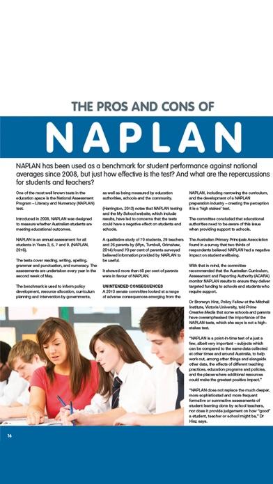 Whichschool Magazine VIC screenshot two
