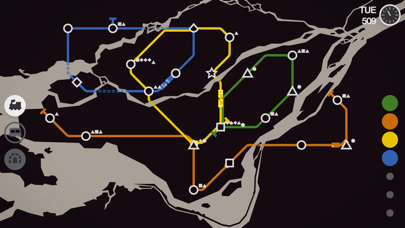 Screenshot for Mini Metro in New Zealand App Store