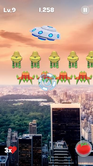Space Alien Invaders ARのおすすめ画像2