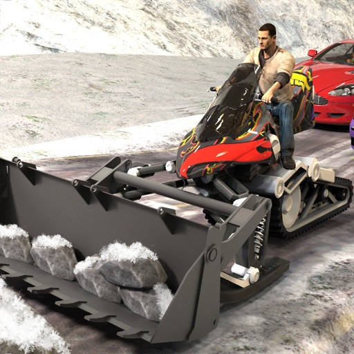 Snow Bike Sledge City Rider 3D by Chudary Arif