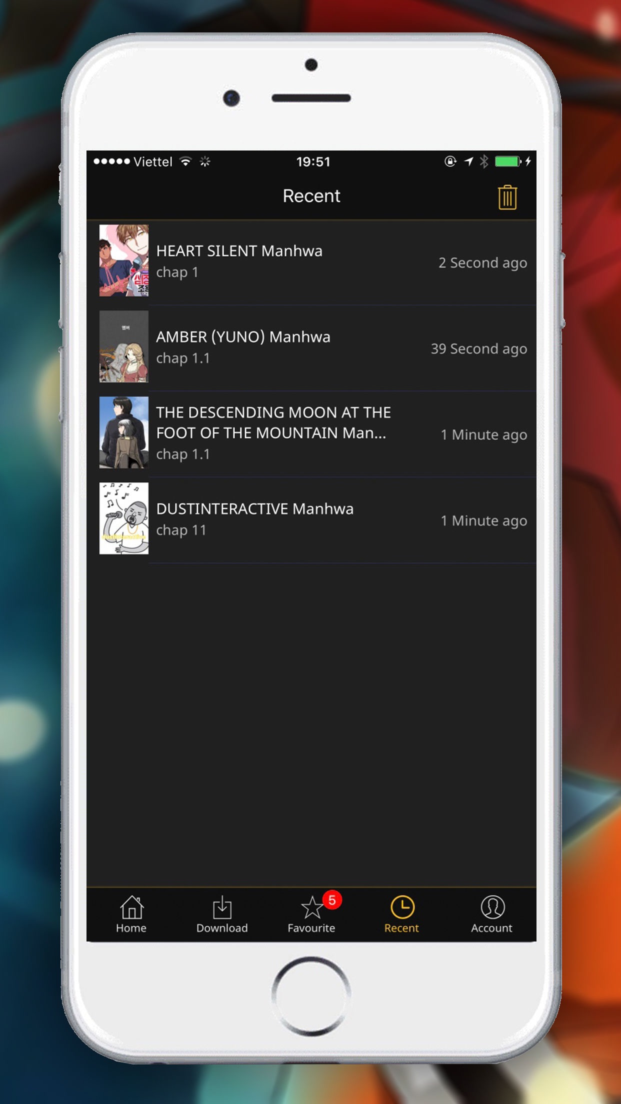Manga Fox: Read Manga online Screenshot