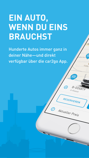 car2go Screenshot