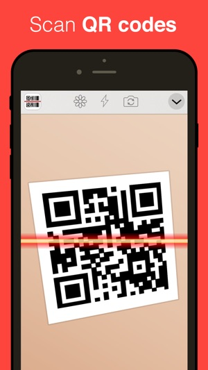 qr reader for iphone premium on the app store. Black Bedroom Furniture Sets. Home Design Ideas
