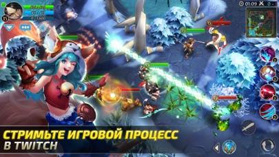 Heroes of Order & Chaos — мобильная MOBA! Скриншоты6