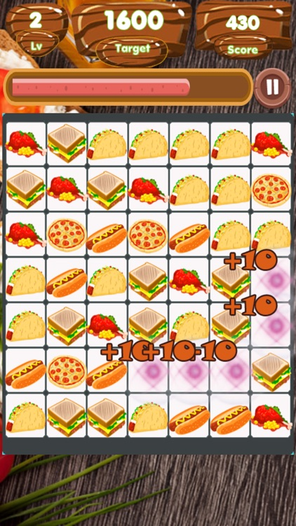 Food Match Land screenshot-5