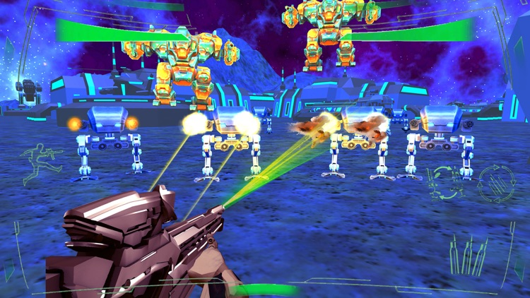 Futuristic Mech Robots Battle screenshot-3