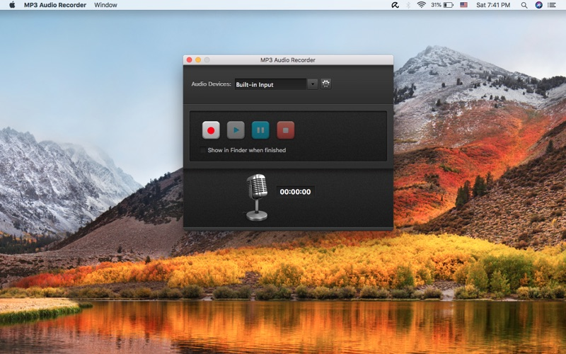 MP3 Audio Recorder Screenshots