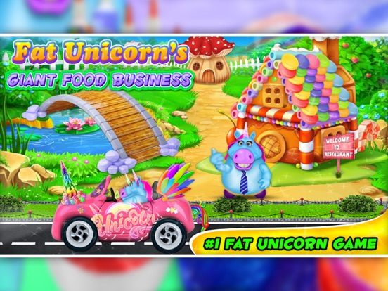 Fat Unicorn Giant Food Blogger screenshot 8