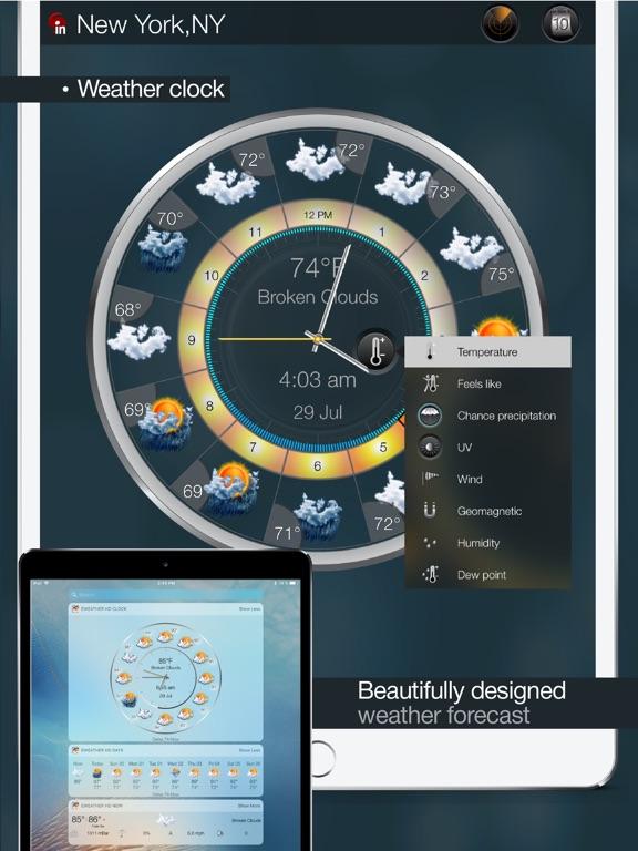 eWeather HD - Weather & Alerts Screenshots