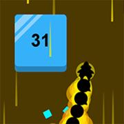 打砖块的贪吃龙:物理游戏
