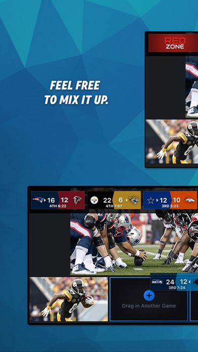 NFL Sunday Ticket Screenshots