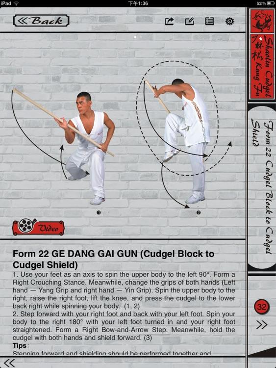 Shaolin kungfu Cudgel screenshot-3