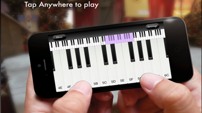 iPiano - Play Real Piano screenshot 1
