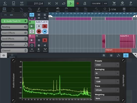 Analyser & Tuner AUv3 Plugin screenshot 12
