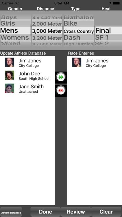 Running Coach's Clipboard iPhn screenshot-4