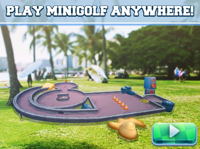 Drive Ahead! Minigolf AR Screenshot