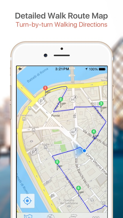 Istanbul Map & Walks (F) screenshot-3