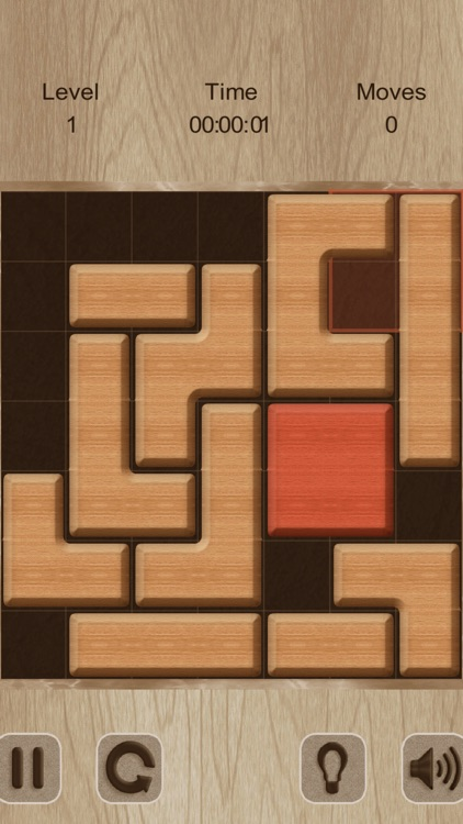 Move The Red Block (ad-free) screenshot-5