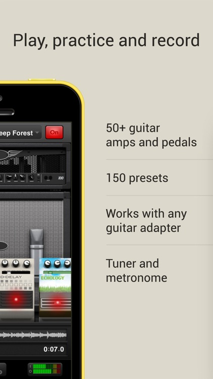 AmpKit - Guitar amps & pedals screenshot-1
