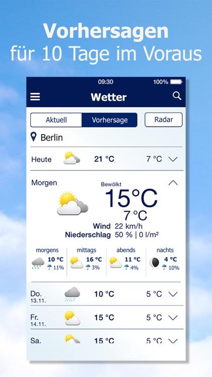 Wetter von t-online.de screenshot-3