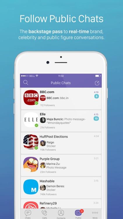 Viber Messenger – Text & Call screenshot-3