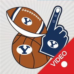BYU Cougars Animated Stickers