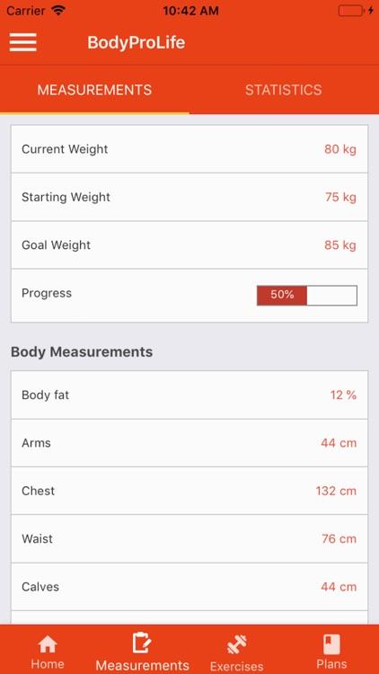 BodyProLife screenshot-6