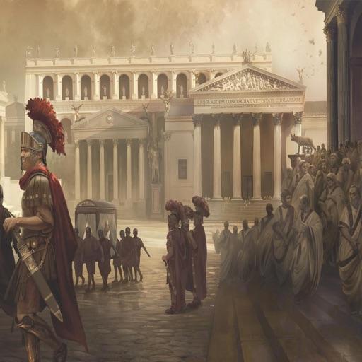 Das Römische Reich Wissenstest