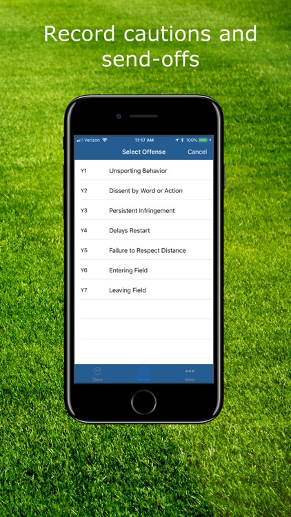 SFRef Soccer Referee Watch screenshot-3