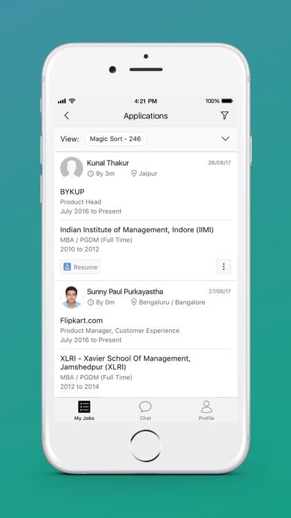 hirist for Recruiters screenshot-3