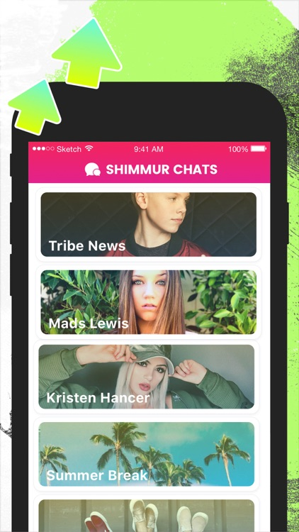Shimmur - get noticed by your favorite stars screenshot-3