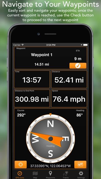 GPS Tracks screenshot1