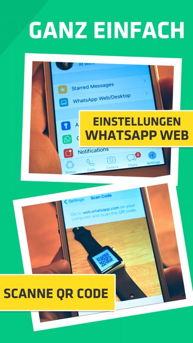 Screenshot for WatchUp - für WhatsApp in Germany App Store