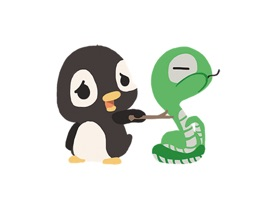 Penguin and Snake