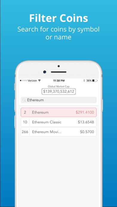 CryptoLadder | Live Rankings app