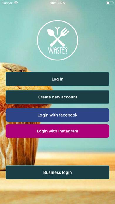 YWaste - Reduce food waste screenshot one