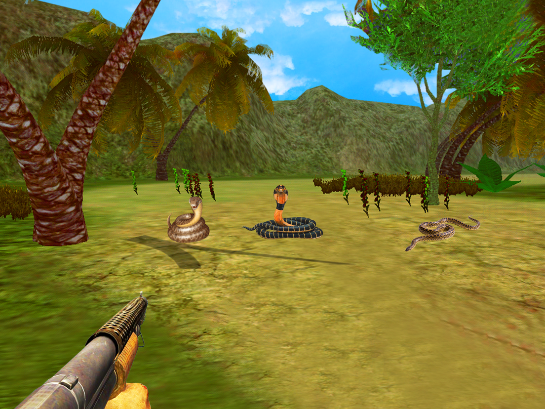 Angry Snake Attack: Shoot Snake With Sniper Gun - App voor iPhone
