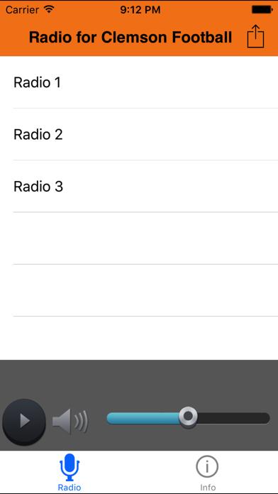 点击获取Radio for Clemson Football