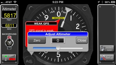 Screenshot for Aircraft Altimeter in Lebanon App Store