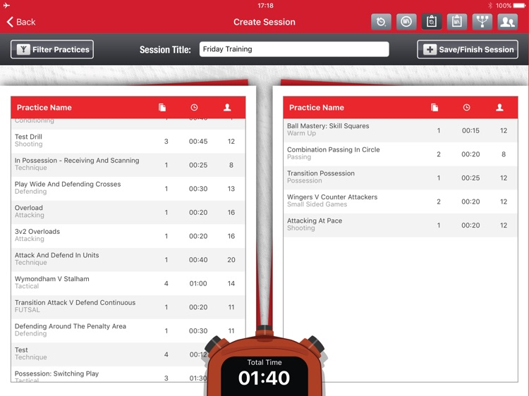 i-Drills Football screenshot-3