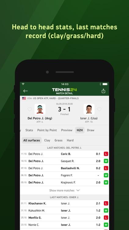 Tennis 24 - tennis live scores screenshot-3
