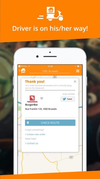 Takeaway.com - Order food screenshot-3
