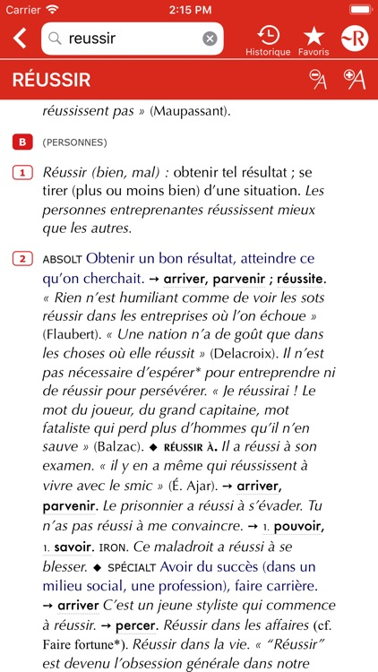 Dictionnaire Le Petit Robert screenshot-4