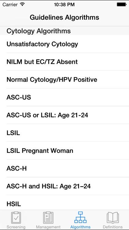 ASCCP Mobile screenshot-4
