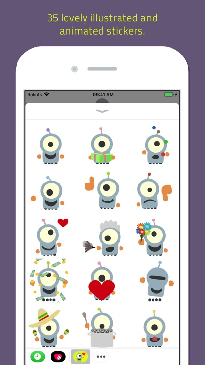 Emoji Bots animated