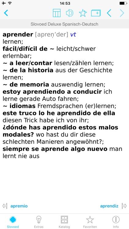 German <> Spanish Dictionary