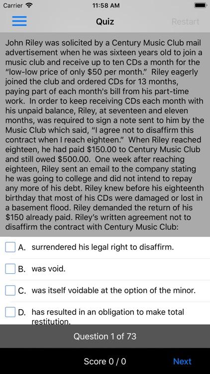 Contracts & Sales: Supreme Bar screenshot-3
