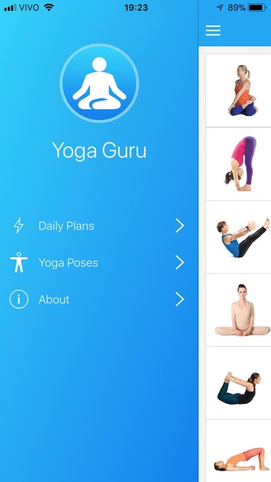 Yoga Guru: Daily Plans & Poses screenshot one